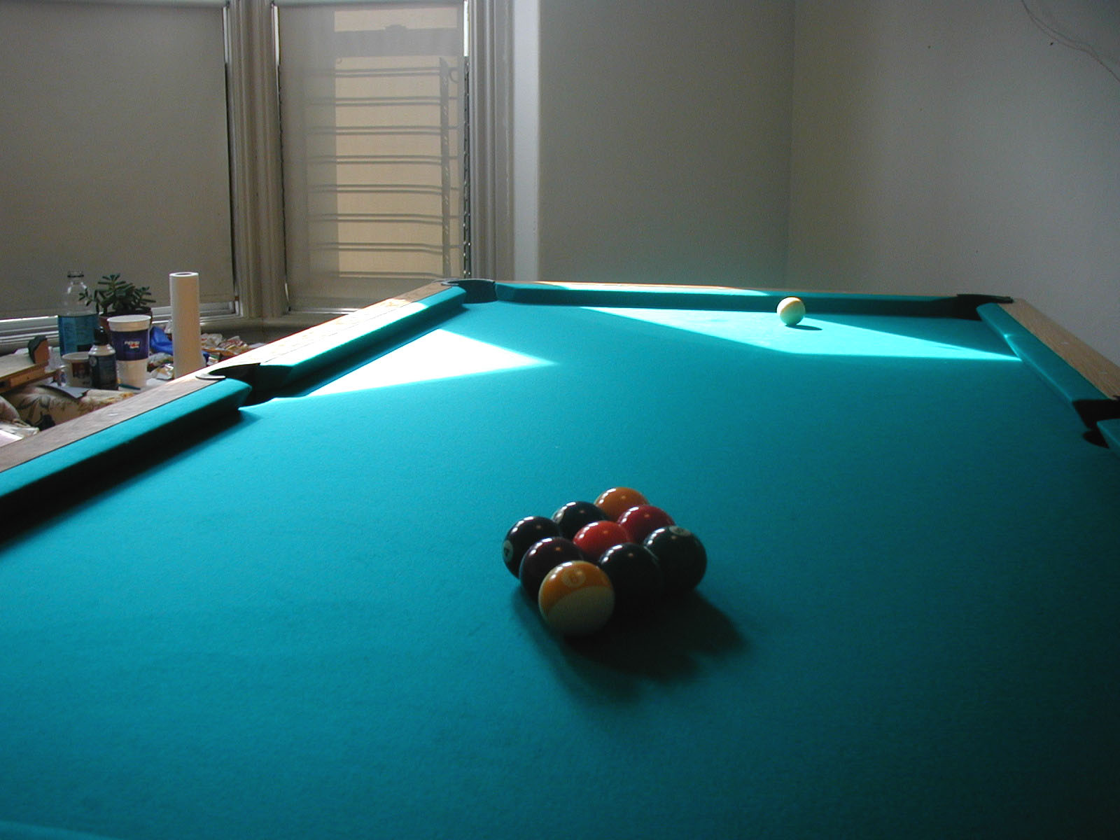 Beau Pool Table For Sale.